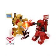 Радиоуправляемый робот боксер Wineya 2.4G FY8088D (свет, звук)